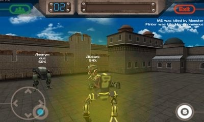 Conflict Robots Android Game Image 2