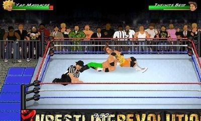 Wrestling Revolution Android Game Image 1