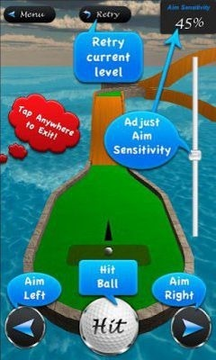 3D Mini Golf Masters Android Game Image 1