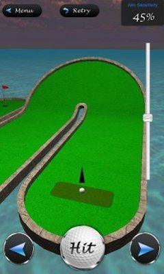3D Mini Golf Masters Android Game Image 2