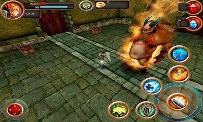 Samurai Tiger Android Game Image 1