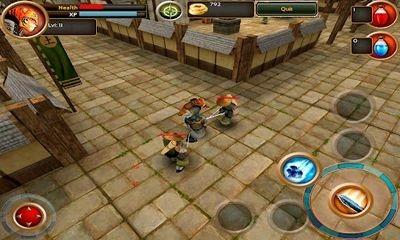 Samurai Tiger Android Game Image 2