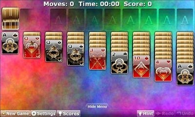 Solitaire Double-Deck HD Android Game Image 2