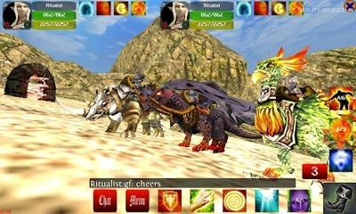 Faction Wars 3D MMORPG Android Game Image 1