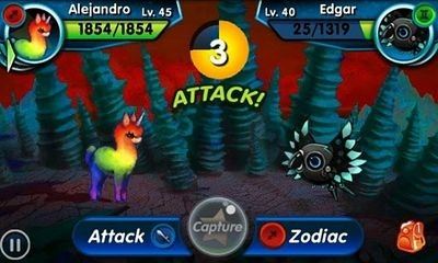 Monster Galaxy Android Game Image 1