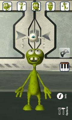 Talking Alan Alien Android Game Image 1
