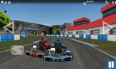 Championship Karting 2012 Android Game Image 2