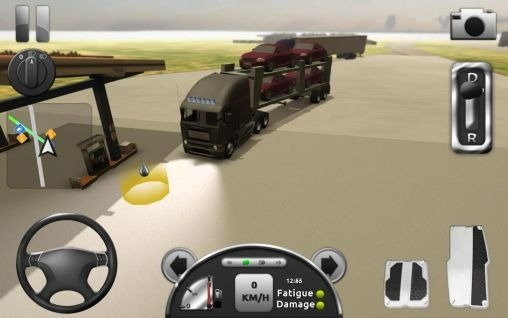 Truck simulator 3D Android Game Image 1