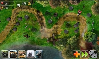 Lush Tower Defense Android Game Image 1