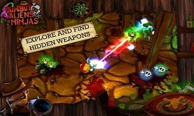 Cowboy vs. Ninjas vs. Aliens Android Game Image 2