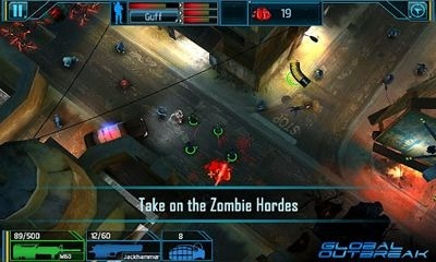 Global Outbreak Android Game Image 2