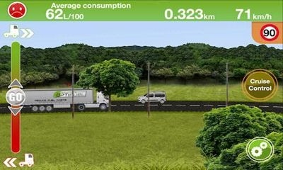 Truck Fuel Eco Driving Android Game Image 1