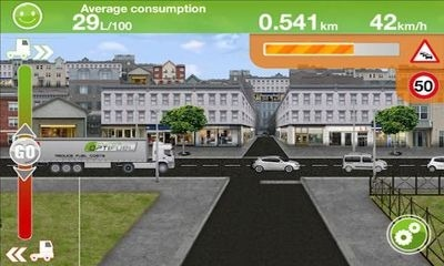 Truck Fuel Eco Driving Android Game Image 2