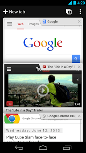 Chrome Browser - Google Android Application Image 1