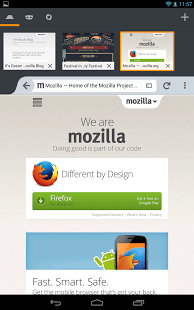 Firefox Browser for Android Android Application Image 2