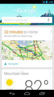 Google Search Android Application Image 1