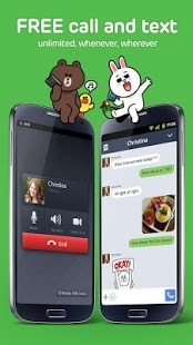 LINE: Free Calls & Messages Android Application Image 1