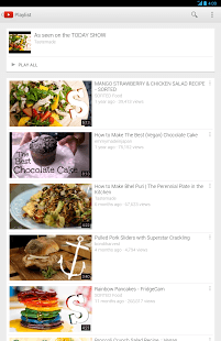 YouTube Android Application Image 1