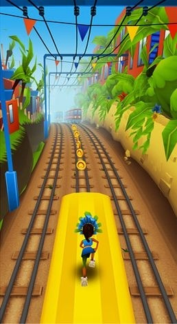 Subway surfers: World tour Rio Android Game Image 1