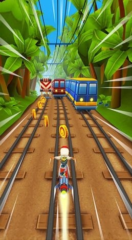 Subway surfers: World tour Rio Android Game Image 2