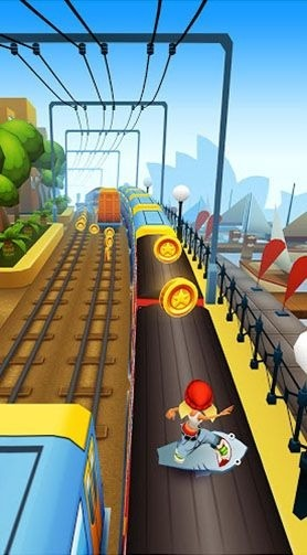Subway surfers: World tour Sydney Android Game Image 2