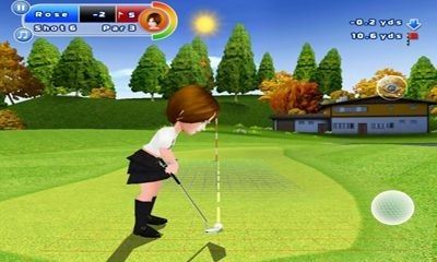 Lets Golf! 2 HD Android Game Image 1