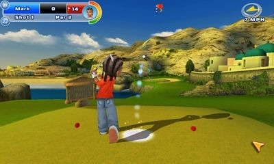 Lets Golf! 2 HD Android Game Image 2