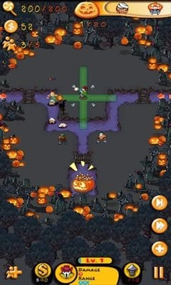 Greedy Pigs Halloween Android Game Image 1