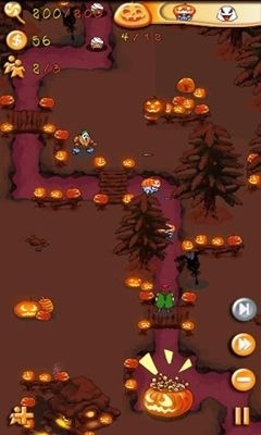 Greedy Pigs Halloween Android Game Image 2