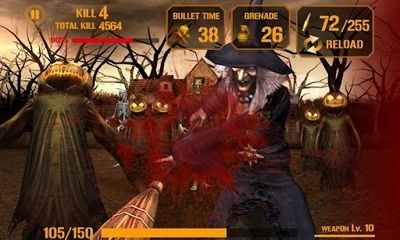 Gun Zombie: Halloween Android Game Image 1
