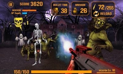 Gun Zombie: Halloween Android Game Image 2
