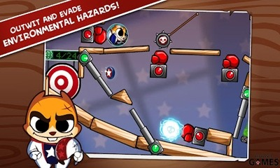 Hank Hazard. The Stunt Hamster Android Game Image 1