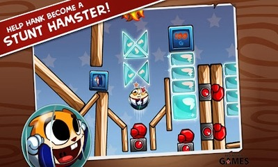 Hank Hazard. The Stunt Hamster Android Game Image 2