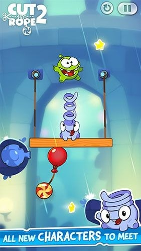 Cut The Rope 2 Android Game Image 1