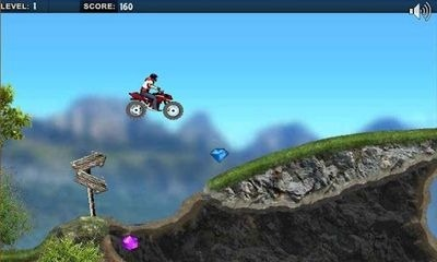 Mountain Moto Android Game Image 1