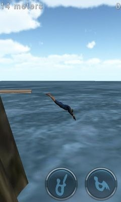 Cliff Diving 3D Android Game Image 1