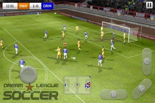 Dream League: Soccer Android Game Image 1
