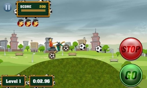 Footy Rider Android Game Image 1