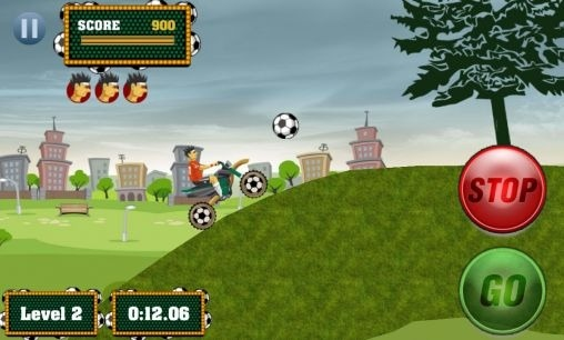 Footy Rider Android Game Image 2