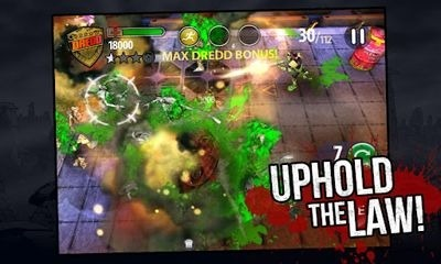 Judge Dredd vs. Zombies Android Game Image 1