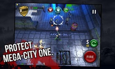 Judge Dredd vs. Zombies Android Game Image 2