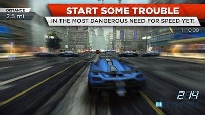 Need for Speed Most Wanted Android Game Image 1