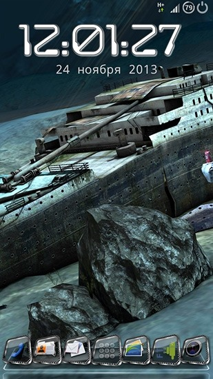 Titanic 3D Android Wallpaper Image 1