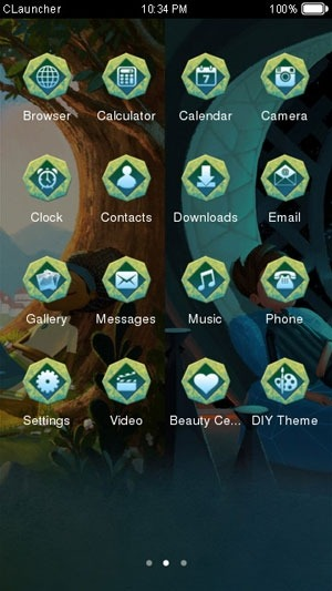 Broken Age CLauncher Android Theme Image 2