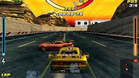 Racing Car 3D Android Game Image 1