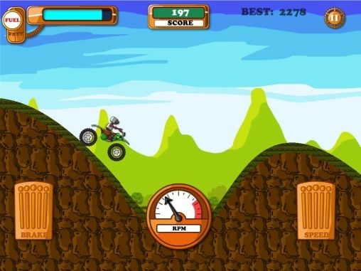 Steampunk: Hill Climb Android Game Image 1