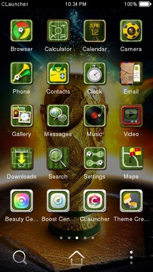 The Brazil World Cup CLauncher Android Theme Image 1