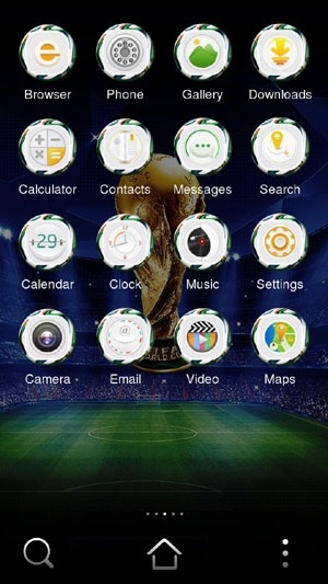 World Cup CLauncher Android Theme Image 1