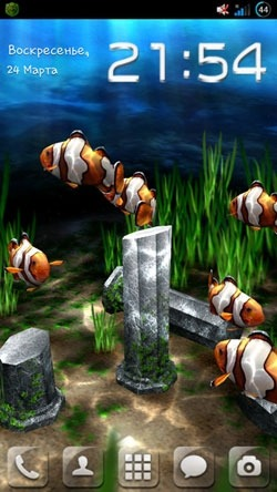 My 3D Fish Android Wallpaper Image 2