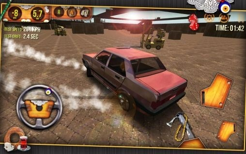 Classic Car Simulator 3D 2014 Android Game Image 2